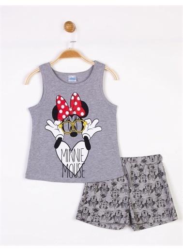 Minnie Mouse 2 li Takım Gri